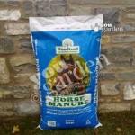 Shredded Horse Manure XL 60L bag for mulching