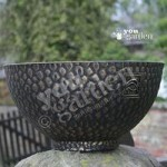 Pair of Embossed 14 (35cm) Cathay Planters