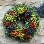 Fresh Berry Festive Wreaths 30cm